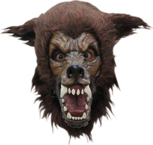 Mask Head Wolf Big Bad Guillotine Headless Beheaded Halloween Zombie Body Prop